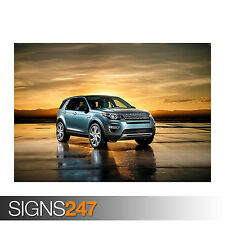 2015 LAND ROVER DISCOVERY SPORT (0102) Car Poster - Poster Print A0 A1 A2 A3 A4