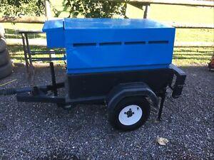 Genset diesel welder generator Towable