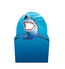 SHARK - LIFE SIZE STAND-IN/CUTOUT BRAND NEW - PARTY 2297