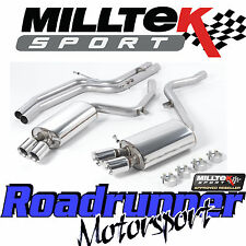 Milltek SSXAU190 Audi S5 4.2 Coupe 07-11 Exhaust System Cat Back Non Res GT80