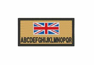 AIRSOFT MILITARY EMBROIDERED PERSONALIZED BASIC ZAP PATCHES CAMO SET A & FLAG
