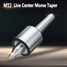 MT2 Live Center Centre Precision 0.000197'' CNC Morse Taper Bearing Lathe 2MT