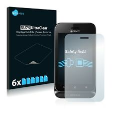 6x Savvies Screen Protector for Sony Xperia Tipo ST21i Ultra Clear