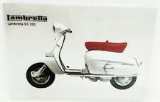 Lambretta Magnet Miniature Motorcycle Vintage Classic Collectible Design Decor