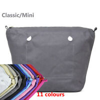 Nuovo impermeabile tela tasca rivestimento interno per Classico Min Obag O bag