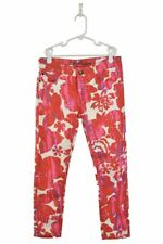 DKNY Girls Jeans Skinny 12 Pink Cotton