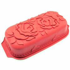 Rose Large Loaf Silicone Mold for Fondant, Gum Paste, Chocolate, Crafts NEW
