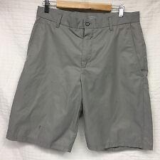 GUC Men's 21st Century Lifestyle GRAY Shorts Size 33 Cotton/Nylon J LINDEBERG