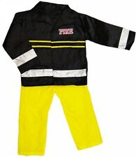 Fire Fighter Dress up Outfit Fireman Firewoman Role Play Costume Uniform Age 3 to 5 Years