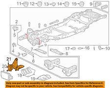 Chevrolet GM OEM 15-18 Tahoe Frame-Distance Sensor Bracket 22813677