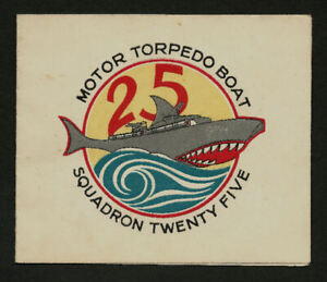 WWII Letter Card  PT Boat Squadron 25 From A Sailor To A Soldier  Love Poem