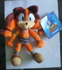 "Sticks the Badger Soft Plush Small 7"" Toy Action Figure Sonic the Hedgehog New"