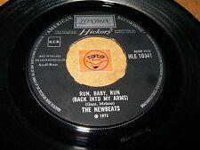 THE NEWBEATS - RUN BABY RUN - AM I NOT MY BROTHERS KEEPER  / LISTEN - SOUL POP
