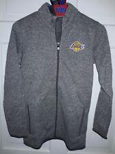 Los Angeles Lakers basketball fleece sweater Full-Zip Jacket NBA shirt - Youth M