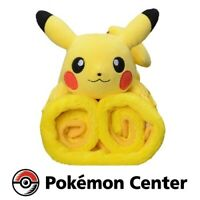 Pokemon Center Original PikaPika BOX 2021 Pikachu Blanket Only Lucky Happy Bag