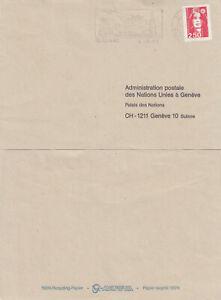 (88999) France Cover Concorde slogan Blagnac 1992