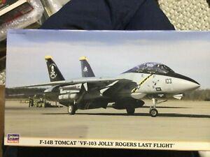Hasegawa 1/72  F-14B Tomcat Vf-103 Jolly Rogers Last Flight
