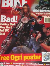 Bike 11/94 Honda CX500 Guide, Yamaha 900 Diversion, BMW R1100RS, Harley Bad Boy