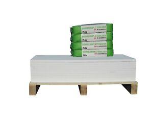 CaSi-Systems Renovierset Klimaplatte 25 mm grundiert, Calciumsilikatplatte