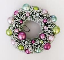 Shabby Victorian Sisal Bottle Brush Christmas Wreath Ornament Decoration Thick