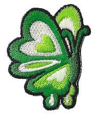 Petit écusson patche Papillon patch thermocollant brodé