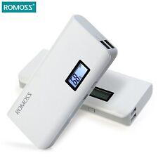 Original ROMOSS Sense 4 Plus Dual USB 10400mAh LCD Portable Power Bank Charger