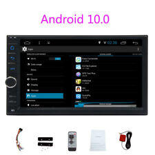 "Android 10.0 Car Stereo Gps Navigation Radio Player Double Din Wifi 7"" Quad Core"