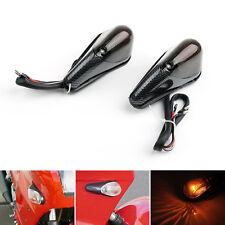 Smoke Front Turn Signals Fit Kawasaki Ninja EX 250 1988-2007 2001 2002 2003 UE