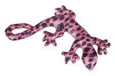 Lagarto Gecko reptil lleno de arena Ravensden Rosa Suave Juguete 15cm M025LI