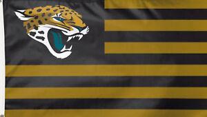 Jacksonville Jaguars NFL Deluxe Grommet Flag Licensed Football Banner 3' x 5'