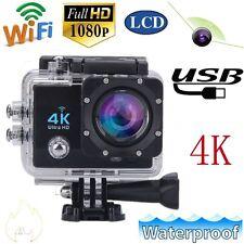 "2"" LCD 4K 1080P SJ9000 Wifi Cam 64MP Action Camera 170°  IP68 Ultra Waterproof"