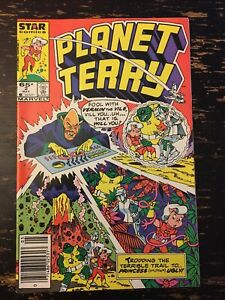 Planet Terry #2 (Star Comics) Free Combine Shipping