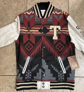 True Religion Navajo Printed Fleece Jacket Size Xl