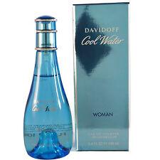 Cool Water by Davidoff For Woman 3.4 OZ Eau de toiltte NEW