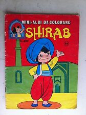 shirab mini albi da colorare N° 26 ed. tv milano (già colorato)