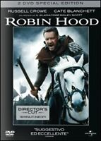 2 Dvd Box **ROBIN HOOD** Special Edition con Russel Crowe nuovo slipcase 2010