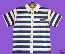 CHECK IN/PAMPOLINA POLO T-SHIRT BL./WEIß 081 Gr.134%%