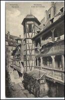 Strasbourg France STRASSBURG CPA ~1910/20 Cour du Corbeau Rabenhof ungelaufen