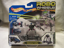 New Hot Wheels Robo Wheels Transformer N7:Formula Fighter !