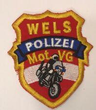 Patch Polizei Wels MOT VG