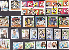 75 All Different CHESS on STAMPS
