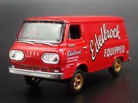1964 FORD ECONOLINE DELIVERY VAN EDELBROCK GASSER 1:64 SCALE DIECAST MODEL CAR