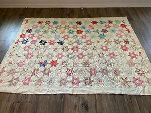 Antique quilt  - star pattern