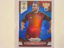 2014 Panini Prizm FIFA  World Cup Soccer Blue Prizm  Alexsandr Kerzhakov