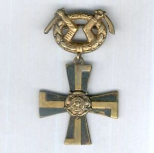 FINLAND. Order of the Cross of Liberty, 3rd class Cross with swords 1941