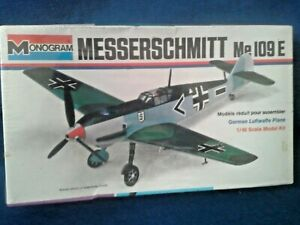 Monogram 6800  1:48 Me 109E White Border Kit  Sealed