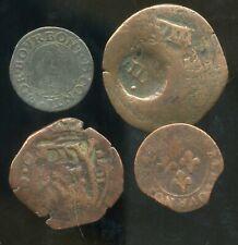 lot de 4 monnaies royale