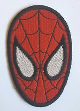 SPIDERMAN PATCH IRON ON EMBROIDERED PATCH 7.50 CM X 4.80 CM