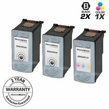 3PK PG-40 CLI-41 for Canon BLACK COLOR Ink Cartridge Pixma MP450 iP6220D iP6310D
