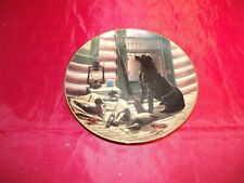 Opening Day Danbury Mint Faithful Companions Collector Plate Scot Storm